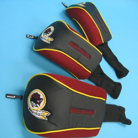 Mesh Headcover - WinCraft Washington Redskins NFL Tri Pack Mesh Headcover Set