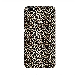 Cover It Up - Brown Black Pebbles Mosaic Honor 4X Hard Case