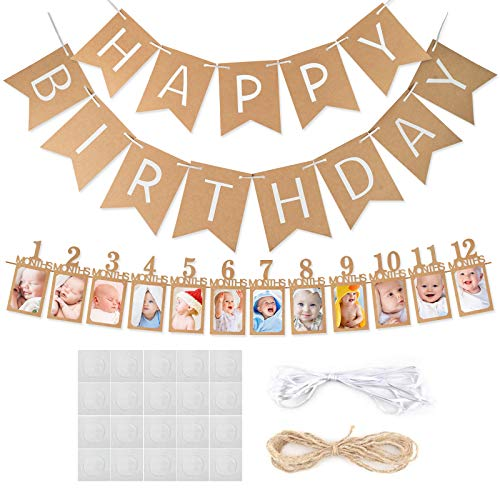 Perfect banner for your loved ones first birthday