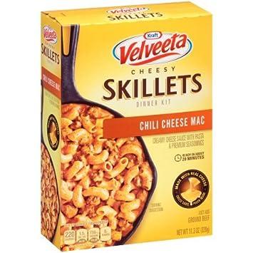velveeta cheesy skillets chili cheese mac reviews