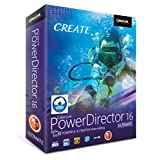 Software : Cyberlink PowerDirector 16 Ultimate: Professional Video Editing Software