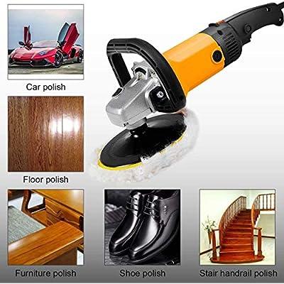 OKAYDA Lambwool Polishing Waxing Pads Buffing Pads for Car Polisher Boat Polisher (4