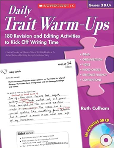 Amazon.com: Daily Trait Warm-Ups: 180 Revision and Editing ...