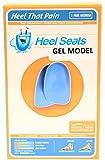 Gel Heel Seat Cup Inserts - Heel That Pain - (Men 5-8; Women 7-10) Medium