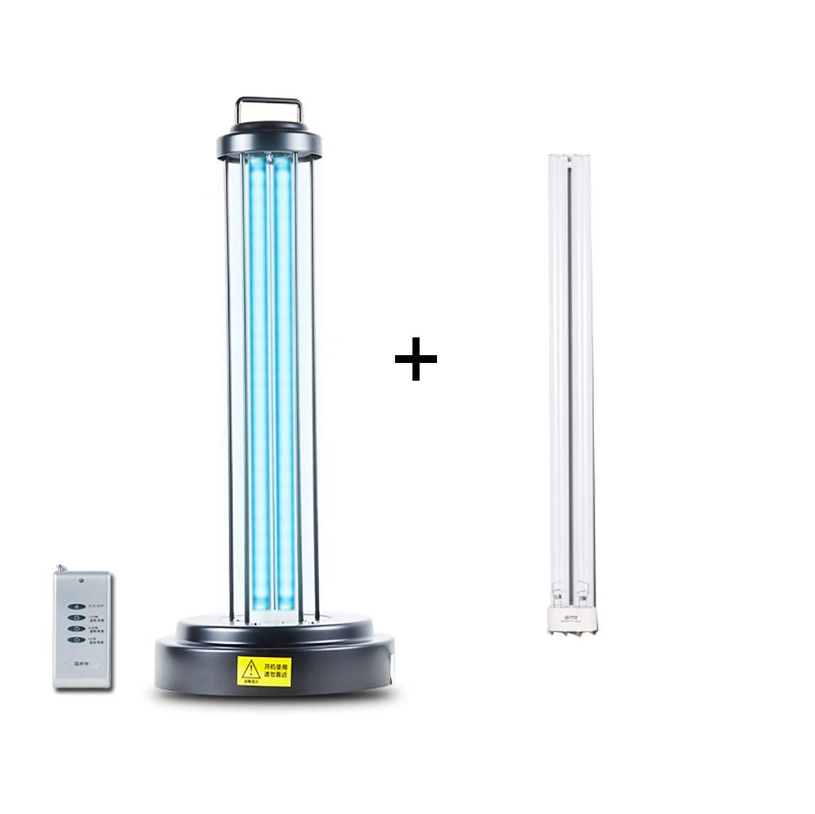 Lampada Sterilizzatrice UV 40 Senza Ozono E Ozono 60w Sterilizzatore Disinfezione Luce Germicida Leggera Pulisce Il Timer Sterilizzatore Aria Lampada E Telecomando Contro
