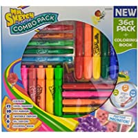 Mr. Sketch Scented Combo Pack, 36 count pack plus coloring book