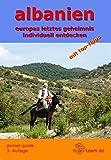 """albanien reiseführer - pocket-guide - Taschenbuch """"europas letztes geheimnis individuell entdecken"""" Ausgabe 03/2015-16"""