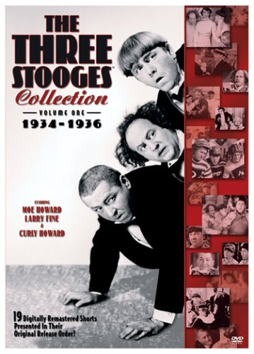 Three Stooges Collection, the - 1935-1936 The Three Stooges Larry Fine Curly Howard Moe Howard