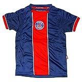 PSG - Official Paris Saint-Germain Kids Soccer Jersey - Blue, Red