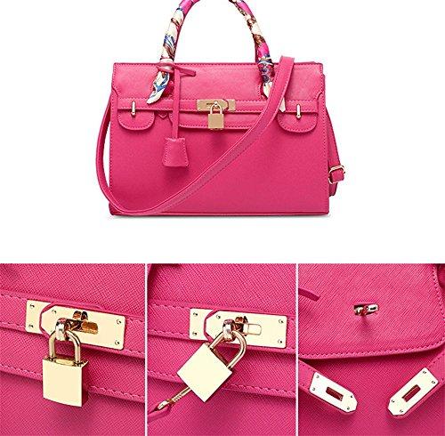 Platinum Tote31229 CentimetriRed Borsetta Signora 5 Pu Pink Signore Tracolla Yanx Pacchetto Fashion 9IYE2DHW