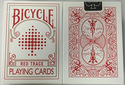 - Bicycle Red Trace Deck Playing Cards