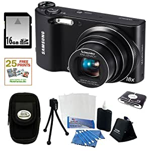 Samsung WB150 14.2MP WI-Fi Digital Camera with 18x Optical Zoom and 3-inch LC...