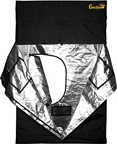 Gorilla Grow Tent 5' x 5' Original Line 2017 Factory Direct Model w/ Free Extension! by Gorilla Grow Tent