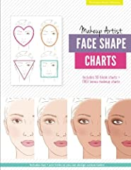 Unleash your inner makeup diva with your own face charts just like the ones real makeup professionals use! Have fun designing fabulous looks on 6 realistic face shapes with color pencils, markers, crayons, even real makeup! Makeup Artist Face...