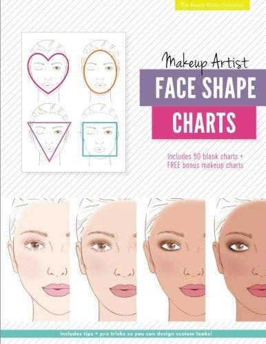 Makeup Artist Face Shape Charts (The Beauty Studio - Chart Shape Face