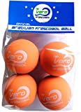 Frescobol Balls, Brazilian Papaya Orange Ball 4-pack