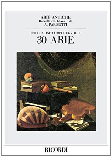 Arie Antiche 1. Gesang, Klavier