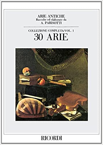 Amazon Fr Arie Antiche Volume 1 30 Airs Cht Po Compilation Livres