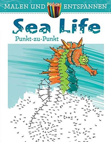 Malen und entspannen: Punkt zu Punkt - Sea Life