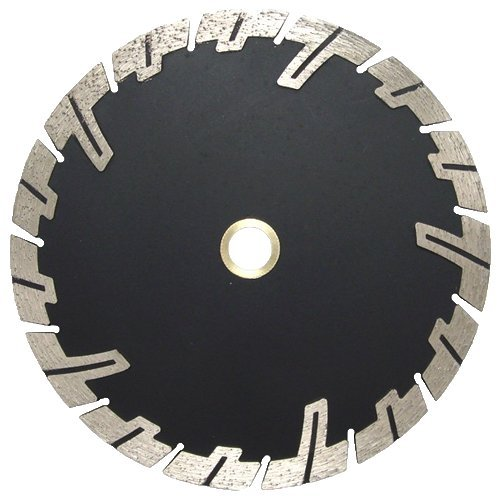 Aggressive Samurai Style ''Sabre'' Drop Segment Diamond Saw Blade! Undercut Protection for Granite! Lame De Diamante / Diamantklinge / Lama Diamantata / Hoja De Diamante! (12'') by Rialto USA LLC