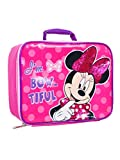 Minnie Mouse Soft Rectangular Insulated Lunch Bag … (Cute Minnie)