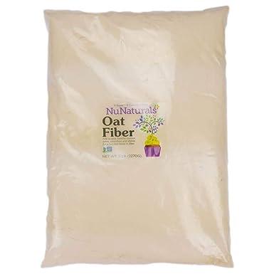 NuGrains, fibra de avena, 1 libra (454 g) - NuNaturals: Amazon.es: Salud y cuidado personal