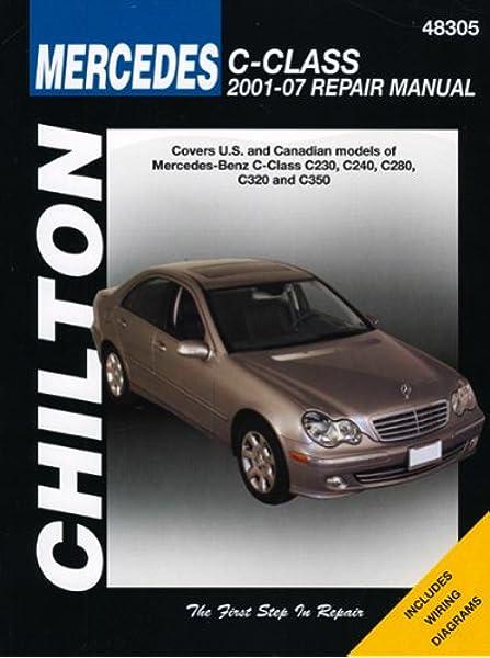 [XOTG_4463]  Mercedes Benz C Class (Chilton's Repair Manual): Chilton: 8601410230265:  Amazon.com: Books | Mb C300 Wiring Diagram |  | Amazon.com