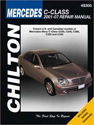Nice Mercedes Benz C Class (Chiltonu0027s Repair Manual) 1st Edition