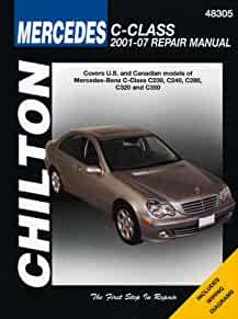 mercedes benz c class chilton s repair manual chilton rh amazon com 2012 Mercedes C350 1995 Mercedes C220 Interior