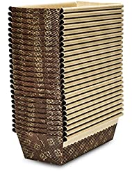 Honey-Can-Do 2591 Junior Loaf Pan, 25-Pack, 6-Inches x 2.5-Inches x 2-Inches