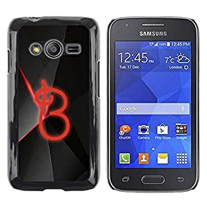 Be Good Phone Accessory // Dura Cáscara cubierta Protectora Caso Carcasa Funda de Protección para Samsung Galaxy Ace 4 G313 SM-G313F // B