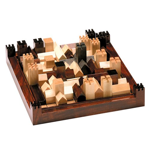 Cathedral Wood Strategy Tabletop Board Game Classic by Family Games