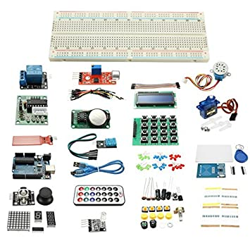 Ils - RFID Kit Maestro con relé Motor LCD Servo para arduino avr Starter: Amazon.es: Electrónica