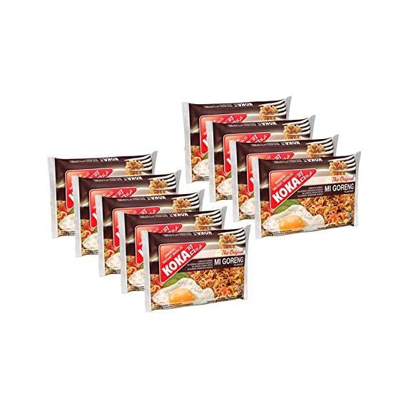 KOKA Instant Noodles - Mi Goreng Flavour (85 gm x Pack of 9 )