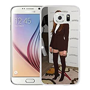 Unique Designed Cover Case For Samsung Galaxy S6 With Lily Cole Girl Mobile Wallpaper(13) Phone Case