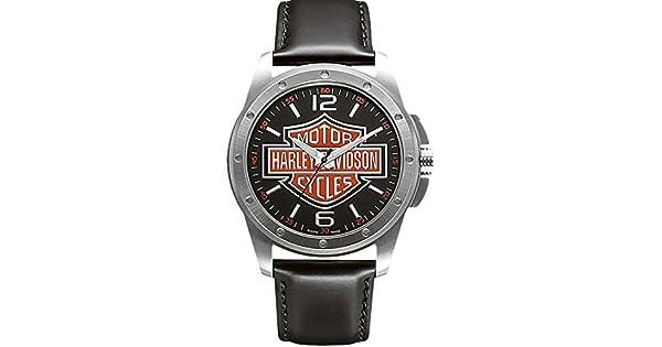 9ee0096e6a6 Relógio Bulova Harley Davidson Analógico Masculino WH30019T  Amazon.com.br   Amazon Moda