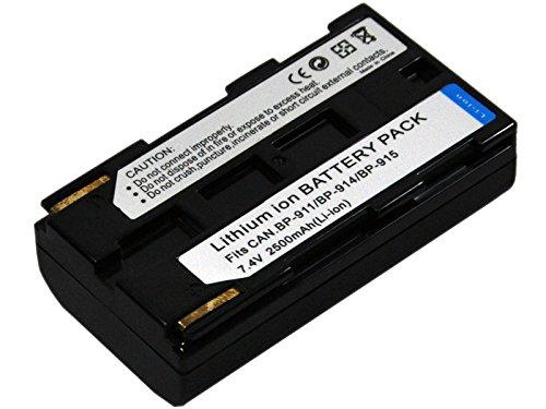 - Battery for Canon BP-911 BP911 BP-911K BP-914 BP-915 BP-924 BP-927 BP-930 BP-930E BP-930R BP-941 BP-945 BP-950 BP-950G BP-955 BP-970 BP-970G BP-975