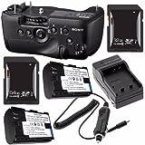 Sony Vertical Battery Grip Alpha A99 DSLR Camera + NP-FM500H Battery + External Charger + 32GB SDHC Card + 64GB SDXC Card Saver Bundle