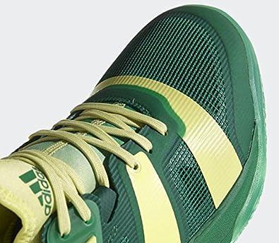 release date: 34d03 ae717 adidas Men s Stabil X Handball Shoes, Green (Bgreen Sefrye Cgreen), 5 UK   Amazon.co.uk  Shoes   Bags