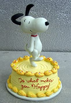 Hallmark Peanuts PAJ4502 Do What Makes You Happy Snoopy Figurine