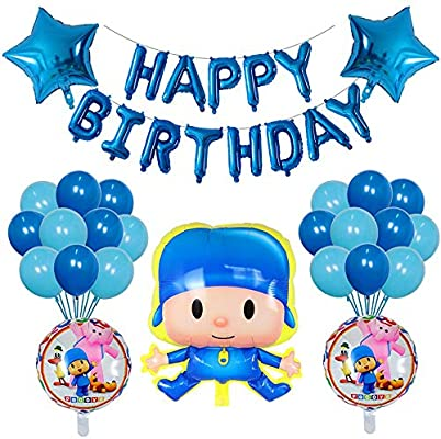 POCOYO BALLOON KIDS BIRTHDAY PARTY DECORATION CENTERPIECE GIFT FAVOR TOY