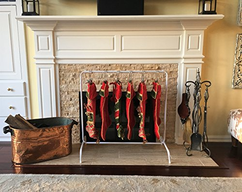 Boottique Free Standing Christmas Stocking Hanger Holder- No Mantle Stocking -