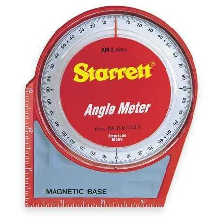 Angle Meter, Magnetic Base, 0-90 Deg