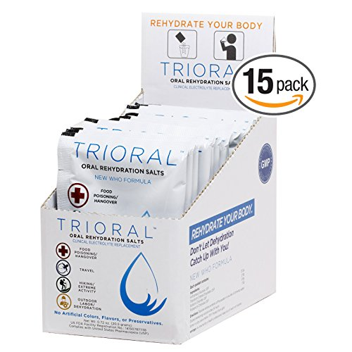 TRIORAL Rehydration Organization Electrolyte Replacement