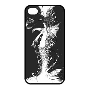 Custom Mermaid Design TPU Case for Iphone 4 4S