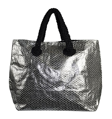 Hobo Weave Couture Large Shoulder Black Travel Tote Bags Peach Gold Handbags qY4wH4E