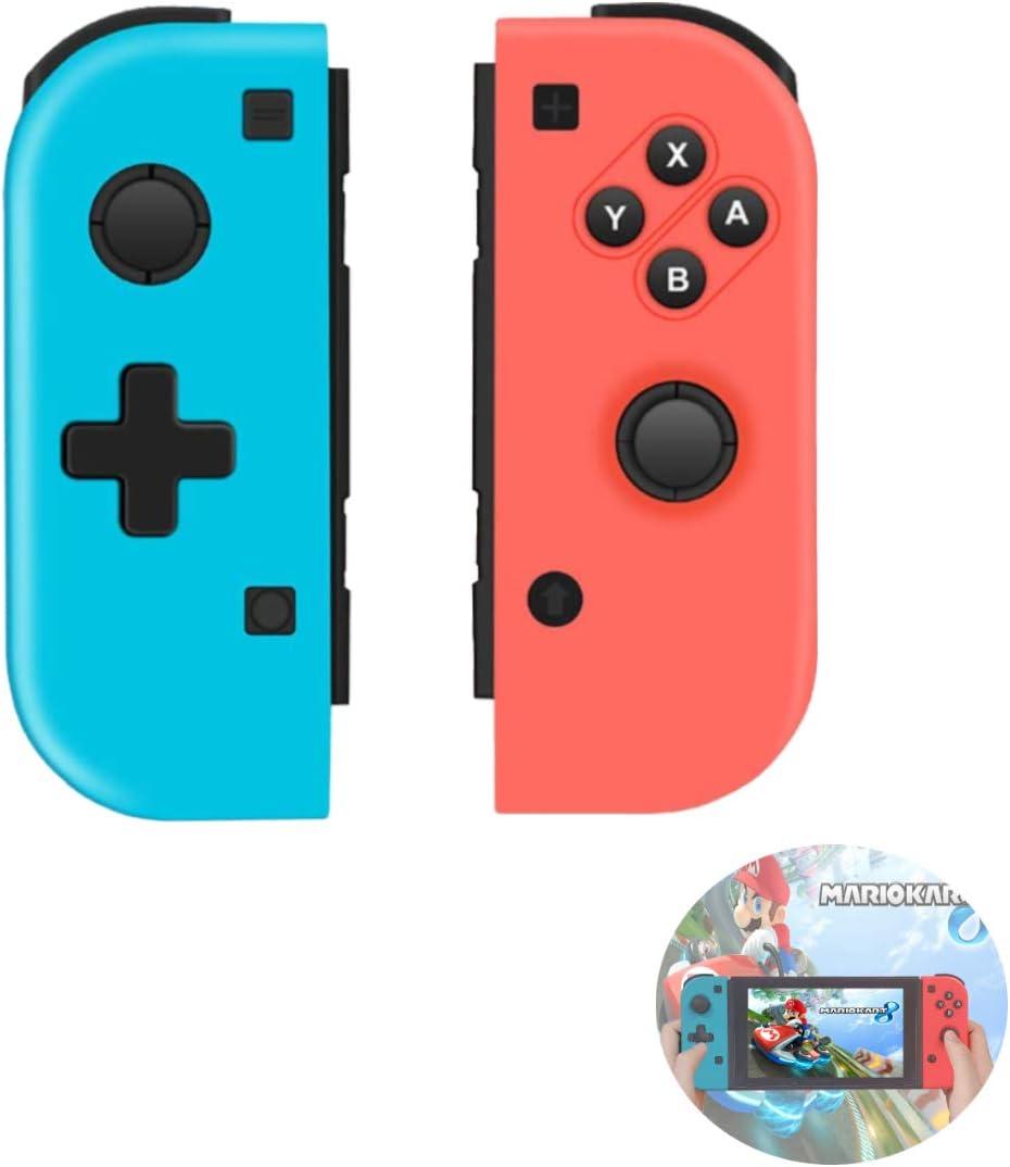 TUTUO Wireless Controller para Nintendo Switch, Gamepad Gaming Bluetooth Mando Controllers Izquierdo/Derecho compatibles con Switch Pro: Amazon.es: Electrónica