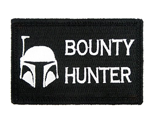 Bounty Hunter Embroidered Morale Tags
