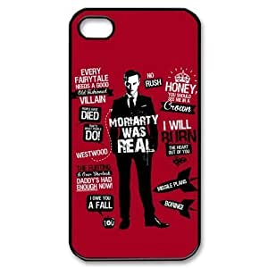 Custom Your Own Sherlock iPhone 4/4S Case , personalised Sherlock Iphone 4 Cover