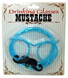 Island Dogs Mustache Drinking Glasses